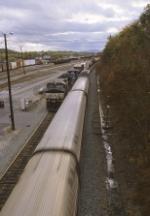 Amtrak passing NS at CP Rose