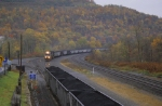 Coal drag heading east