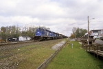 Pushing a loaded coal train