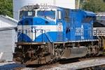 A Conrail blue 7211