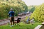 Railfanning