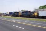 Northbound intermodal