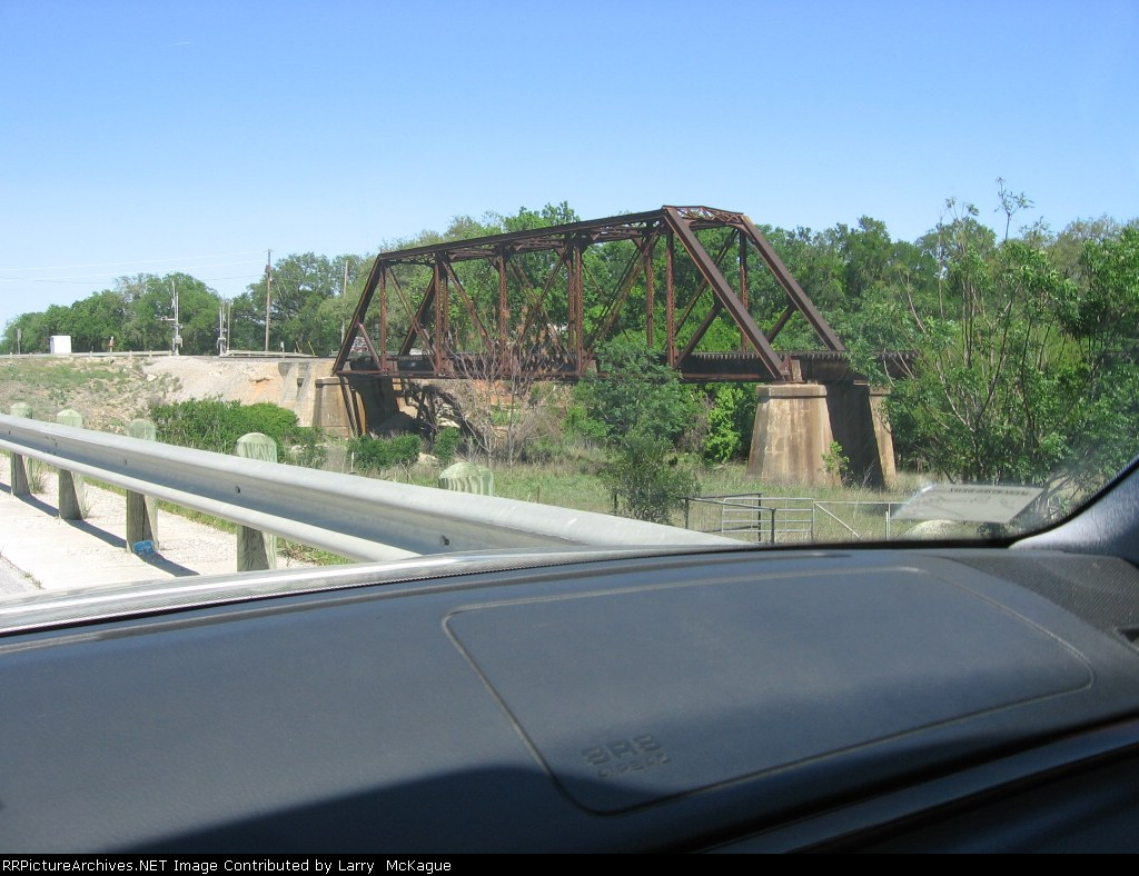 UP Bridge over York Creek, 7 miles SW of San Marcos along state route 80