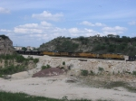 Loaded train ready to leave Beckman Quarry,