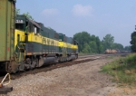 Bayline local meets CSX through freight