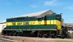 Bayline locomotive seen