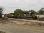 Bayline and CSX units side by side