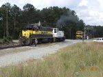 CIRR and NS coal train power