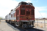 ATSF M190 Doodlebug gets new digs as it awaits restoration