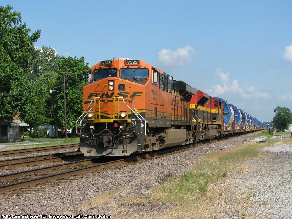 BNSF 7525