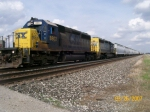 CSX 8802 leads Q367-26 through Reno