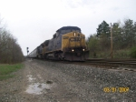 CSX 7723 leads a mix past the CP39 interlocking