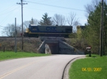 As they head back east to Avon with CSX 5573 as the leader