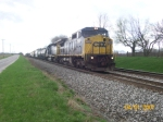 CSX 7340 leads a mix eastbound
