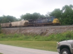 Westbound grain that was left at Greencastle