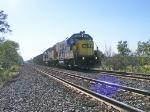 B039-27 w/ 4 mty coal cars