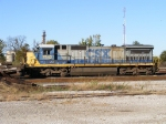 CSX 7542 sitting in Baker Yard