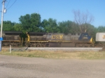 CSX 645 on a northbound intermodal