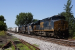 CSX J771-01 tied down in Roachdale Siding