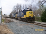 CSX 2780 leads J771 on the Monon