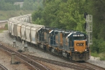 J770-31 departs and heads for the CSX yard