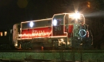 INRD 2543 with the Christmas lights on