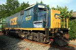CSX 1537 Conrail Shared Assets SA31 with 6 cars