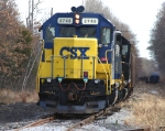 CSX 2746 Shoving an EL Hopper