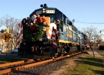CSX 4412 Santa Claus is definately coming to town