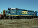 CSX 4412 Dark Future Locomotive