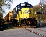CSX 2746 with SA31 Charging down The Southern Secondary