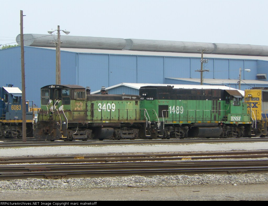 BNSF 3409