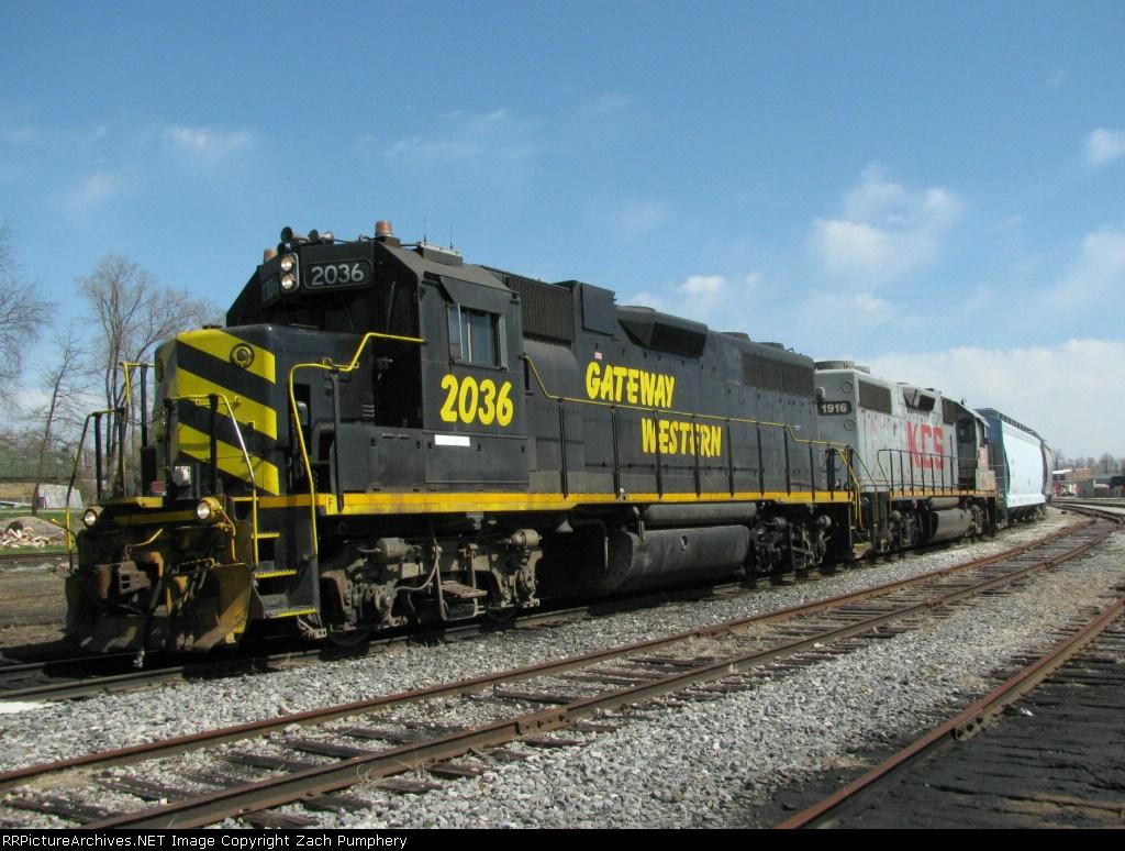 Westbound KCS Local Train