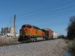 Northbound BNSF High-Wide Special