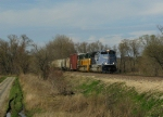 Southbound UP Manifest With the MP and CNW Heritage Locomotives