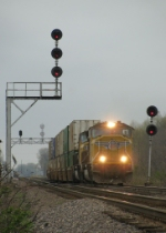 Southbound UP Intermodal