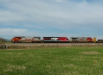Northbound BNSF Merchandise Train