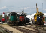 MNA Locomotives in Miller Yard