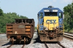 Rail train in Wellsboro Yard