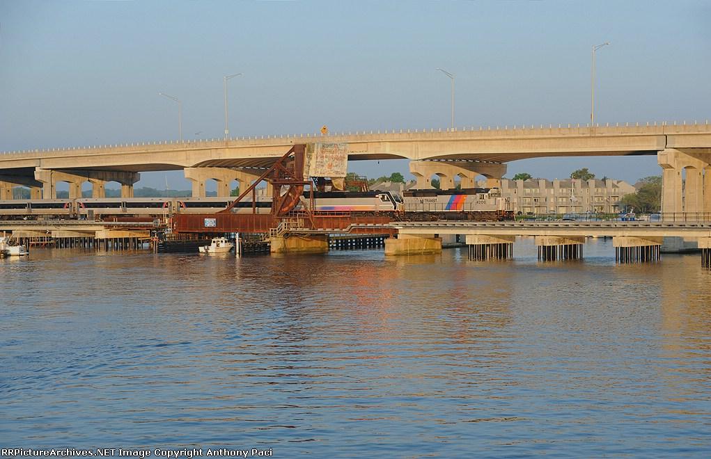 Crossing Shark River