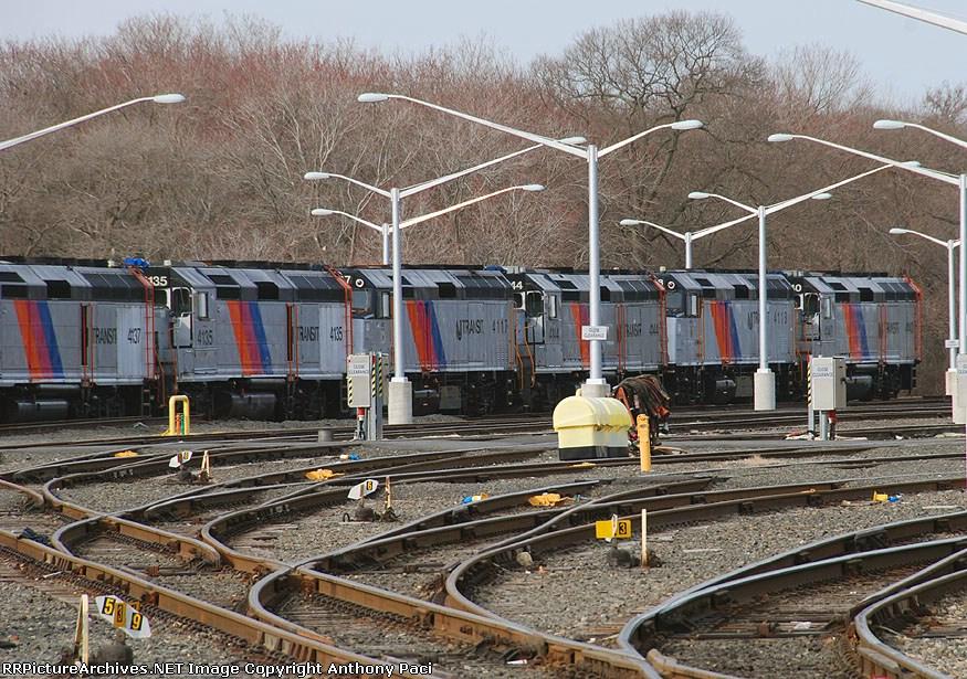 Stored New Jersey Transit locomotives