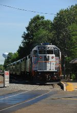 New Jersey Transit equipment move
