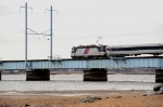 NJT 4415 crossing the Raritan River