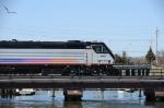NJT 4007 crossing the Manasquan River