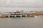 Long Branch shuttle crossing the Shark River
