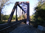 The bridge over the Wabash River on the Danville Branch