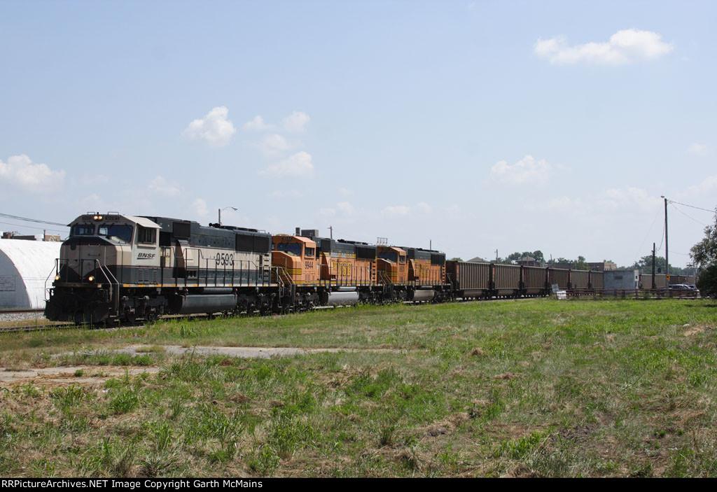 BNSF 9593 East