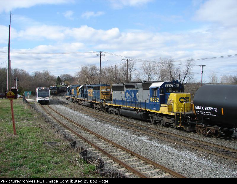 CSX 8832 and 8833 and NJT 3507