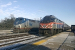 Amtrak 147 & Metra 404