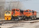 HERZOG 1760/BNSF 9278/BNSF 5802
